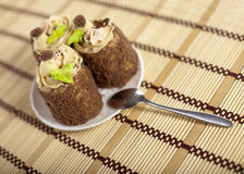 Tasty cakes Stock Images