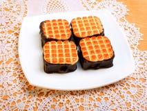Tasty cakes Stock Photography