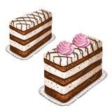 Tasty cakes Stock Photos