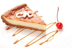 Tasty cheesecake Royalty Free Stock Photo