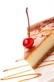 Tasty cheesecake Stock Images