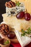 Tasty cheeses. Royalty Free Stock Images