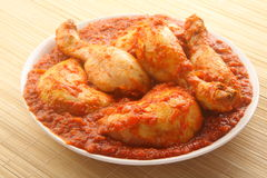 Tasty Chicken curry. Stock Photography