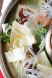 Tasty chinese soup with vegetables Royalty Free Stock Photos