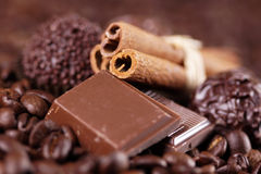 Tasty chocolate Royalty Free Stock Images