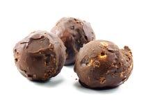 Tasty chocolate ball Stock Photo