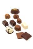 Tasty chocolate bonbons Royalty Free Stock Photo