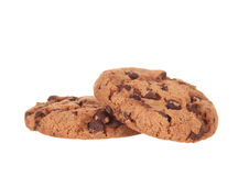Tasty chocolate cookies Royalty Free Stock Image