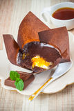 Tasty chocolate dessert. And coffee Royalty Free Stock Photography