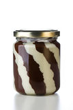 Tasty chocolate spread Stock Photography