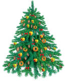 Tasty Christmas tree Royalty Free Stock Image