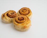 Tasty cinnamon buns ready Stock Images