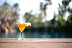Tasty cocktail background Stock Photos