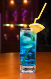 Tasty cocktail in cafe Royalty Free Stock Images