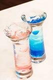 Tasty cocktails Stock Image