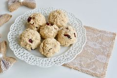 Tasty coconut cookies