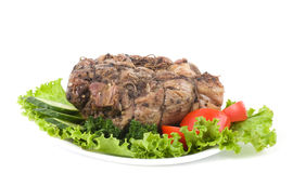 Tasty cold boiled pork Royalty Free Stock Photography