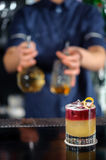 Tasty and colorful cocktails Stock Images