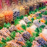Colorful and fresh sweets. A tasty colorful and fresh sweets royalty free stock images