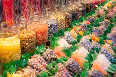 Colorful and fresh sweets. A tasty colorful and fresh sweets stock photography