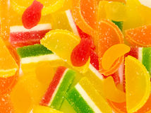 Tasty colorful jelly candies Royalty Free Stock Photo