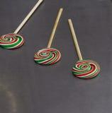 Tasty colorful lollipops Stock Image