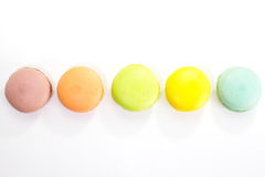 Tasty colorful macaroon Royalty Free Stock Photos