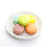 Tasty colorful macaroon Royalty Free Stock Photography