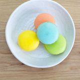 Tasty colorful macaroon Royalty Free Stock Photo