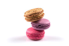 Tasty colorful macaroon Royalty Free Stock Image