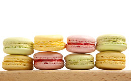 Tasty colorful macaroon Royalty Free Stock Images