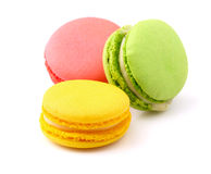 Tasty colorful macaroon. Stock Image