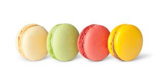Tasty colorful macaroon Stock Images