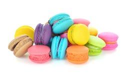 Tasty colorful macaroon Stock Image