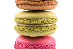 Tasty colorful macaroons Stock Image
