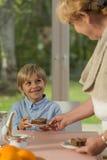 Tasty cookie Stock Image