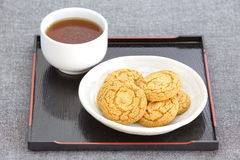 Tasty cookies Stock Images
