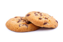 Tasty cookies on a white background. Stock Photography