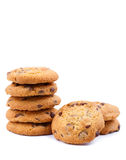 Tasty cookies on a white background. Stock Images