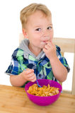 Tasty cornflakes! Royalty Free Stock Image