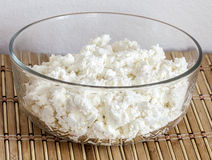 tasty cottage cheese Royalty Free Stock Photography