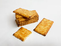 Tasty crackers Royalty Free Stock Image