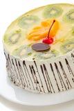 Tasty creamy cake Royalty Free Stock Photography