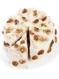 Tasty creamy cake Royalty Free Stock Photos
