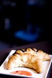 Tasty croissant Stock Photo