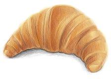 Tasty Croissant Stock Image