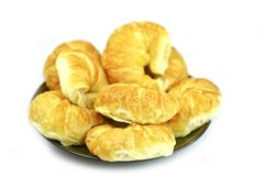Tasty Croissants Stock Images