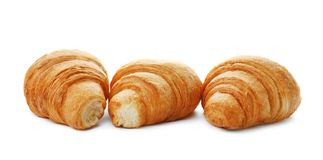 Tasty croissants on background Royalty Free Stock Photography