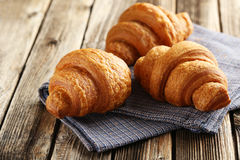 Tasty croissants Royalty Free Stock Image