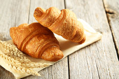 Tasty croissants Royalty Free Stock Photo